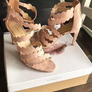 Jessica Simpson Nude blush heels